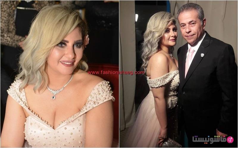 فاشونيستا بالصور فستان زفاف حياة الدرديري يشعل مواقع التواصل
